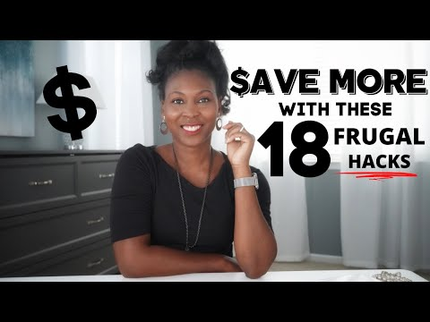 18 Frugal Hacks to Save Money ⎟FRUGAL LIVING TIPS⎟How to Save Money
