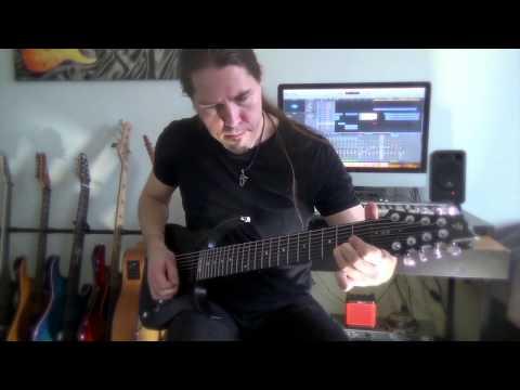 Samuli Federley Plays Northern Battle With V25-FX8/H 8-string Guitar