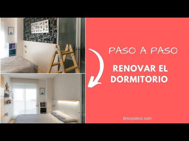 Renovar el Dormitorio con POCO DINERO y SIN CAMBIAR MUEBLES | Lowcost Decor