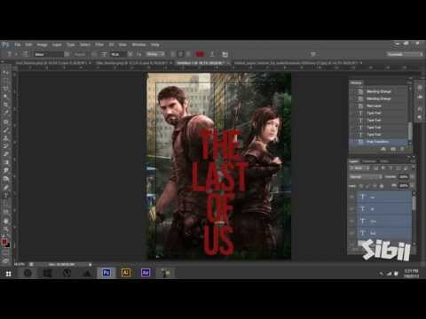 The Last Of Us Poster Design *Fan Art*