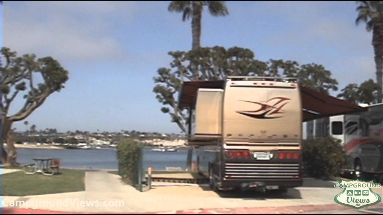 Newport Dunes Rv Park >> Campgroundviews Com Newport Dunes Waterfront Resort Newport Beach California Ca Rv Park