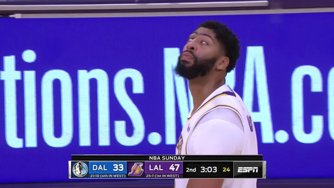 Los Angeles Lakers Vs Dallas Mavericks December 29 2019