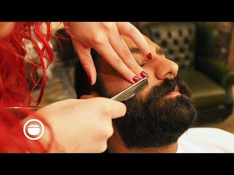 Super Dense Barbershop Beard Trim | Cut and Grind