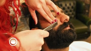 Super Dense Barbershop Beard Trim | Cut and Grind thumbnail