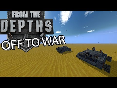 """{ Ashes Of The Empire } - ( E1 ) """"OFF TO WAR"""" From the Depths Gameplay - Playthrough"""