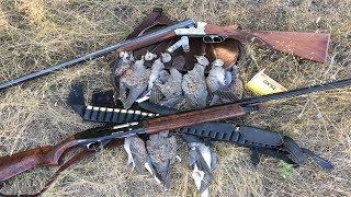 Охота на голубя 2017/ Сумасшедший перелет голубя, выстрелил все патроны.