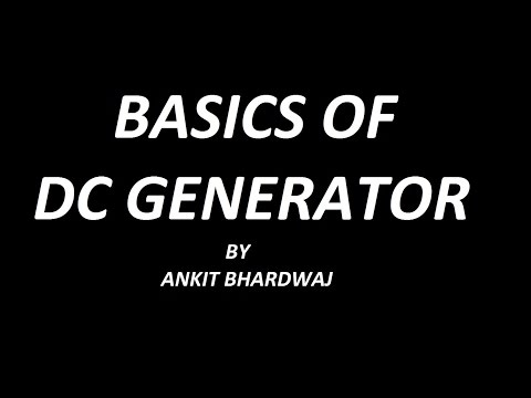 DC GENERATOR BASICS !! Concept of Commutator !!