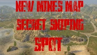 Secret Sniping Spot #4/New Mines Spot/2 Spots That Are Very High Up/World of Tanks Blitz