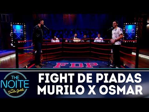 Fight de Piadas: Murilo Moraes x Osmar Campbell - Ep.21   The Noite (21/08/18)