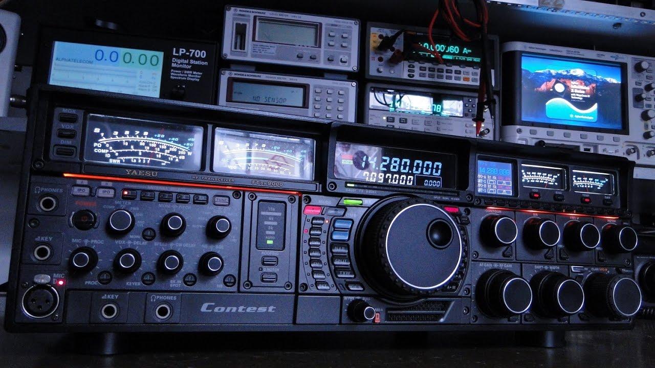 ALPHA TELECOM: YAESU FTDX-9000 CONTEST PAROU DE FUNCIONAR, NÃO LIGA...