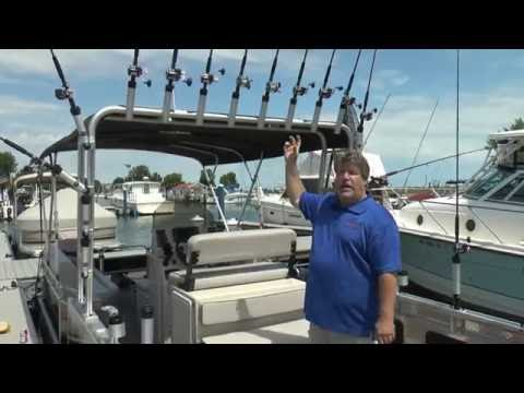 Angler Qwest Fishing Arch And Rod Holders