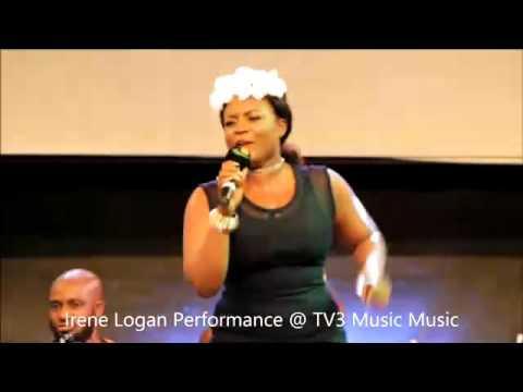 Irene Logan Performance at TV3 Music Music Part1