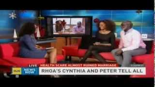 RHOA Cynthia and Peter Talk Fibroids, Sex & Marriage with Dr Tiff