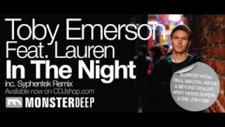 Toby Emerson Feat. Lauren - In The Night (Original Mix)