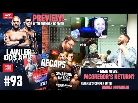 UFC Fresno Recap, McGregor's Return, UFC on FOX 26 Preview (w/ Brendan Dorman)   OFT #93