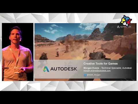 "NG17: ""Creative Tools for Games Content Creation"", Morgan Evans, Autodesk"
