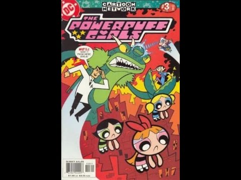 The Comic Vault: DC Powerpuff Girls #3