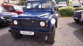 2002 Land Rover Defender 90 Td5 In Blue by Evans Cheuka