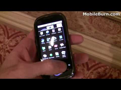 Motorola i1 Android Push-to-Talk smartphone - first look