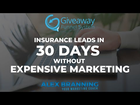 Insurance Leads In 30 Days Without Expensive Marketing