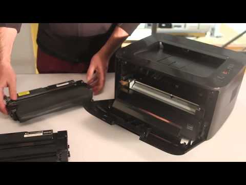 How to replace the Samsung Toner Cartridge MLTD105L/MLTD105S in Samsung ML1915 or similar models