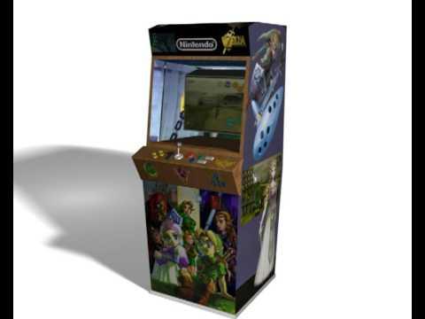 Zelda Ocarina of Time Arcade Machine - YouTube