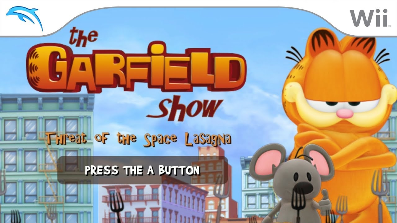 The Garfield Show Threat Of The Space Lasagna Dolphin Emulator Wiki