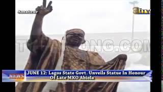 June 12: Lagos State Govt. unveils statue in honour of Late Abiola