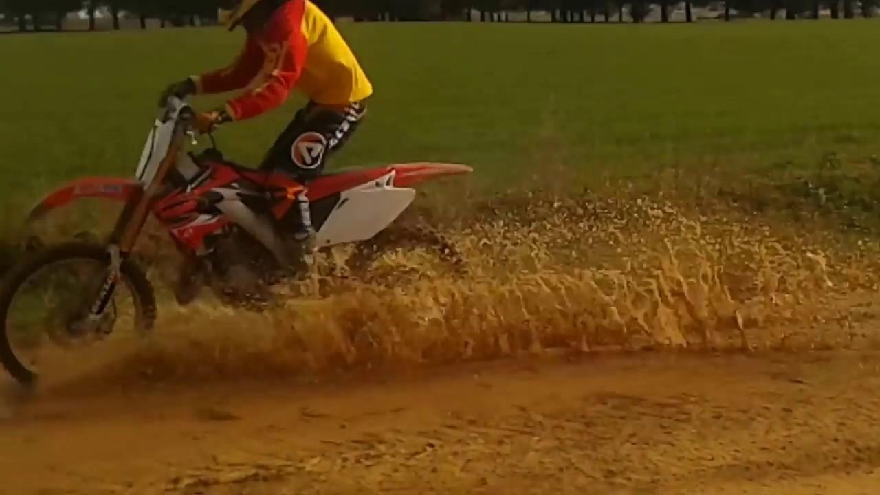Honda Crf 125 Honda Motocross Youtube
