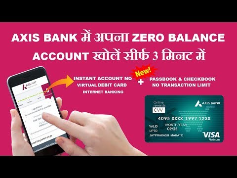 How to activate dormant axis bank account online
