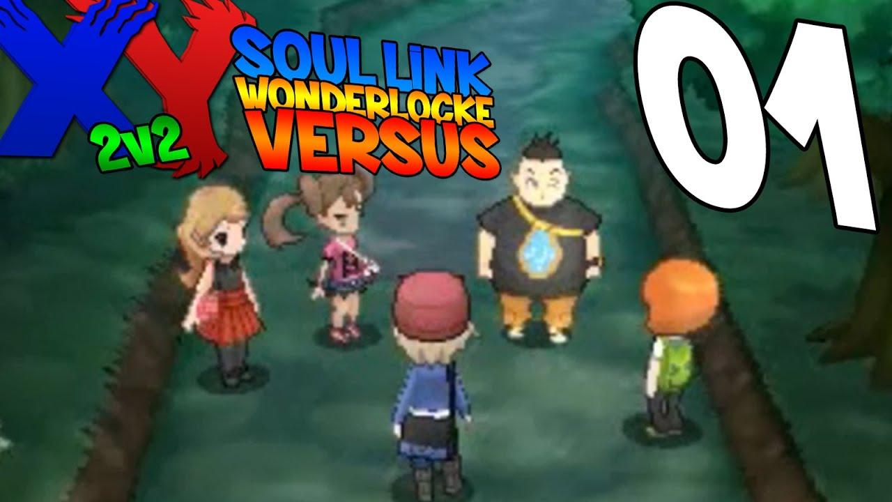 Download Pokémon X/Y Soul Link Wonderlocke Versus 2v2- The Hype Is Real Ep. 1