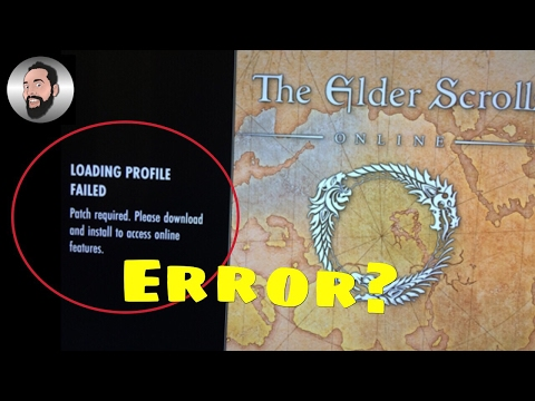 Update error trying to start ESO Morrowind PS4