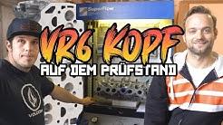 Wieviel besser ist der CNC gefräste Zylinderkopf auf der Flowbench? VR6 Turbo Teil 6 | Philipp Kaess