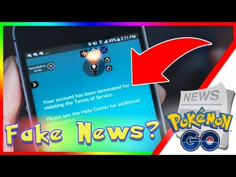 POKEMON GO BAN WAVE TODAY! Is Android Ban Wave Fake News? Account Terminated Banned or Suspended Mp3