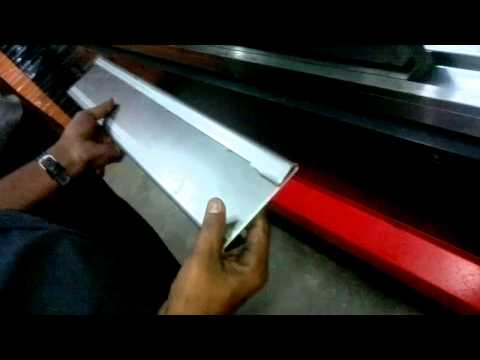 Hemming process in press brake