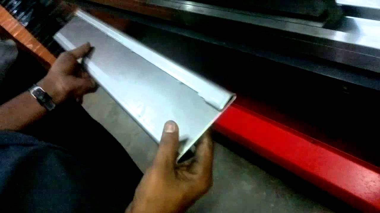 Hemming Process In Press Brake Youtube