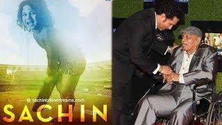 Sachin Tendulkar's Coach Ramakant Achrekar At Sachin A Billion Dreams Grand Premiere