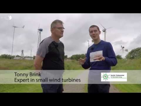 Renewable energy - Small winds turbines and how to test them ?! - Denmark