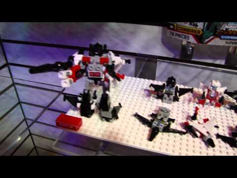 Toy Fair 2013: Transformers Kre-O Microchangers