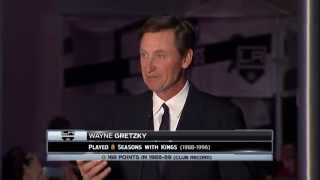Robitaille Statue Ceremony - Wayne Gretzky (08.03.15)