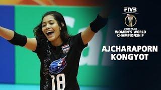 Ajcharaporn Kongyot (อัจฉราพร คงยศ) | Thailand Women Volleyball World Championship 2018