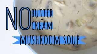 tofu cream of mushroom soup recipe