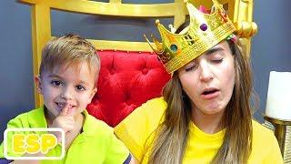 Día de diversión de Vlad y Nikita en el museo Selfie y centro de juegos para niños
