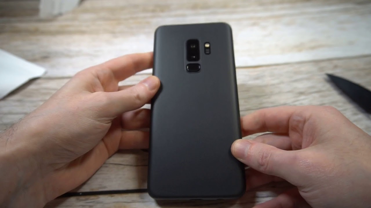 8a1930635f3 Peel Super Thin Galaxy S9 Plus Case Review - YouTube