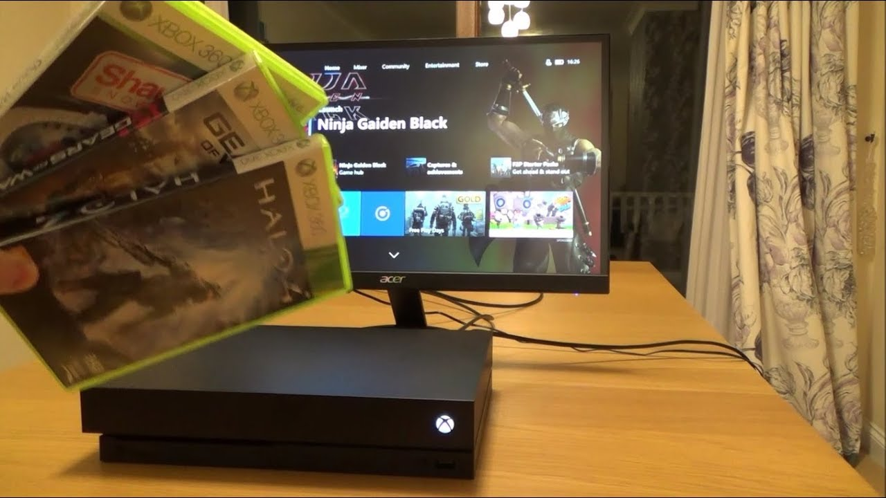 What Happens When you put a Xbox 360 game into a Xbox One ...Xbox 360 Games Converted To Xbox One