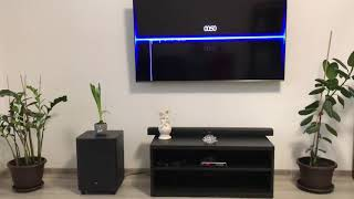 JBL 3.1 sound bar high basse test