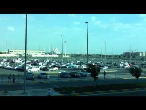 Day Landing at Al Bateen Executive Airport Abu Dhabi