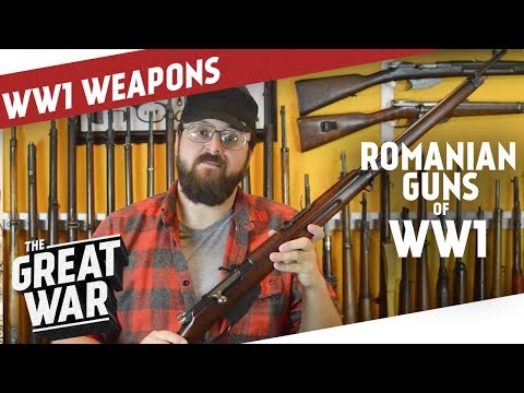 Romanian Guns of WW1 I THE GREAT WAR Special feat. C&Rsenal