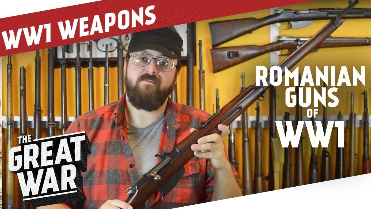 Romanian Guns of WW1 I THE GREAT WAR Special feat  C&Rsenal