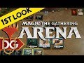 MTG Arena - First Look At - Magic Hearthstone ??